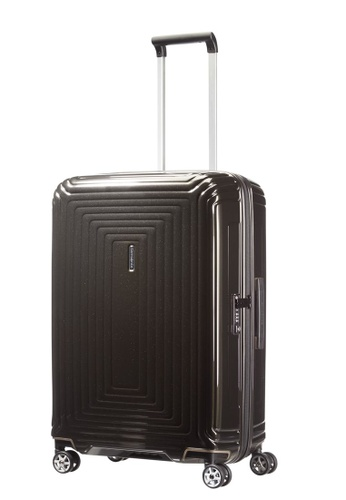 Samsonite black Samsonite Aspero Spinner 69/25 Luggage 901C4ACE21E1AAGS_1