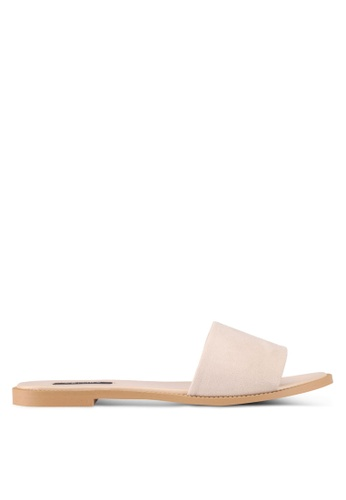 ZALORA white Easy Slides 88796SHAFD8FCCGS_1