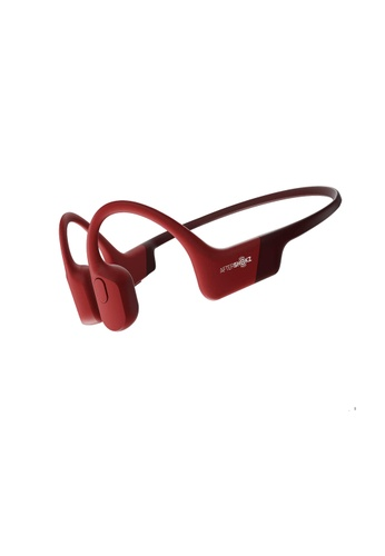 Aftershokz red Aftershokz Aeropex Open-Ear Wireless Bone Conduction Bluetooth Headphones - Red AA219ES37B8A04GS_1