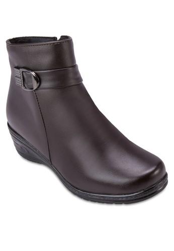 楔形跟短靴esprit台灣, 女鞋, 靴子