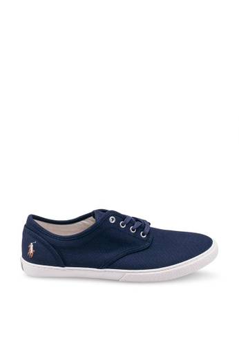 polo ralph lauren navy Ethan Lace Sneakers 93CDDSH96AC31FGS_1