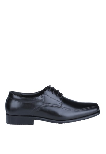 Hush Puppies Sepatu Pria Hoston Lace Up - Black