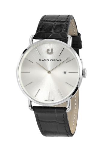 Charles Jourdan silver Charles Jourdan Men Watch Classic Quartz CJ1067-1312 5AE64AC063113BGS_1