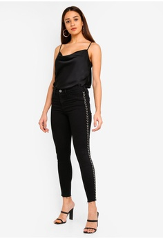 0d5be19bb28f 57% OFF River Island Molly Daffy Tuxe Jeggings HK  517.90 NOW HK  222.90  Sizes 6 16 18