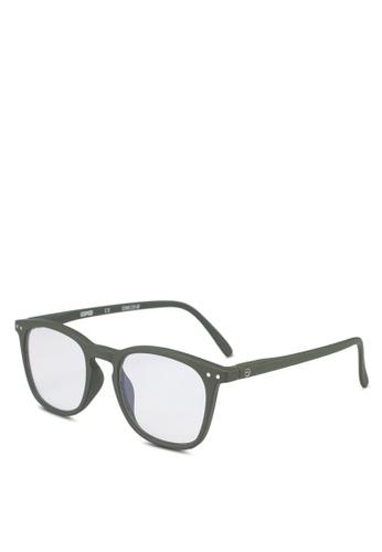 Izipizi 褐色 SCREEN #E Kaki +0.00  Screen Glasses 6E7ABGL7C4844AGS_1