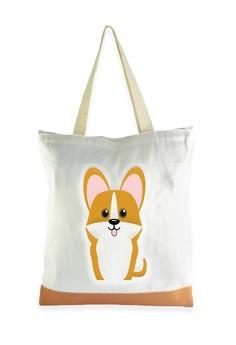 Tote Bag Corgi Dog