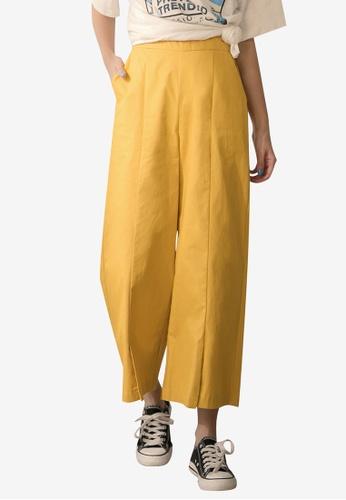 Tokichoi yellow Cut Out Culottes 9EA16AAE4A86E3GS_1
