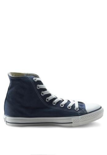 Converse blue Chuck Taylor All Star Canvas Hi Sneakers CO302SH63WHGSG_1