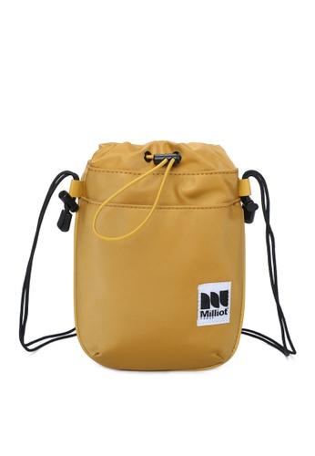 Milliot & Co. brown Bertram Sling Bags CF7B5ACF3E53CCGS_1