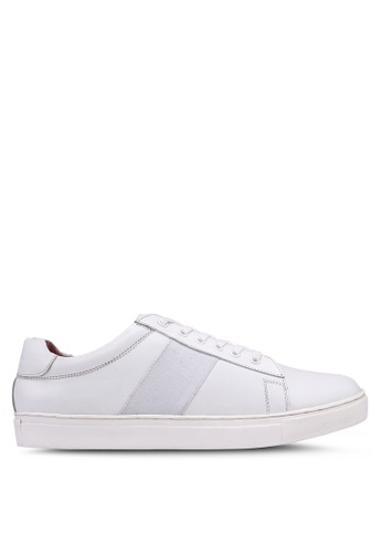 ACUTO white Leather Sneakers 933FBSH3602BC6GS_1