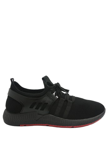 Dr. Kevin black Dr. Kevin Men Sneakers 13389 - Black 3EED4SH60345AEGS_1