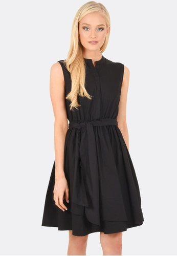 FORCAST black Miley Sleeveless Dress FO347AA0GYD0SG_1