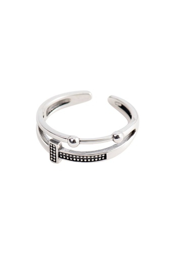 OrBeing white Premium S925 Sliver Geometric Ring D6A86AC66780C6GS_1