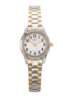 【ZALORA】 Casio 不銹鋼錶帶女性手錶