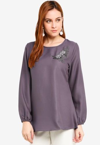 BYN purple Muslimah Blouse A670AAA248151CGS_1