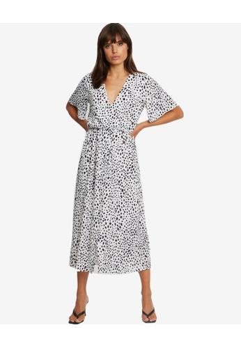 Tussah white Adria Midi Dress 24BA7AA783CF45GS_1