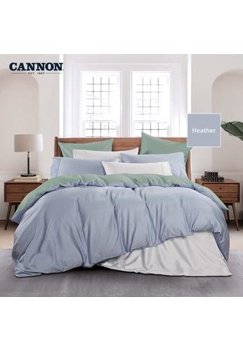 CANNON CANNON Morrison Ceasari - Heather (Quilt Cover Set). D903BHLCECF4B2GS_1