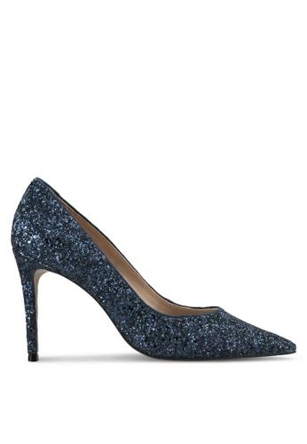 Carvela KG blue Glitter Heels CA459SH0SCLSMY_1