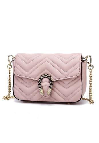 Halo pink Two Way Mini Party Bag A657CAC18E8E06GS_1