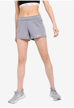 size 40 76965 9332b Nike grey Nike Women s Training Shorts 9E6D5AA8DF83A9GS 1