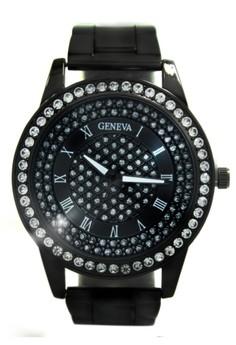 Geneva Jaden Stainless Steel Watch BUS091