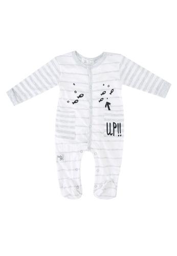 Babybol grey Baby Boys' Long Sleeve Romper 11317KA14173FFGS_1