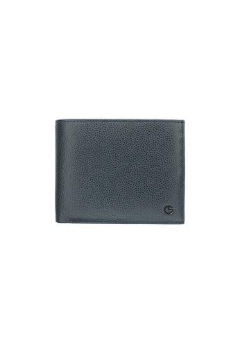 Goldlion Wallet in Textured Leather GO578AC0GYEISG_1
