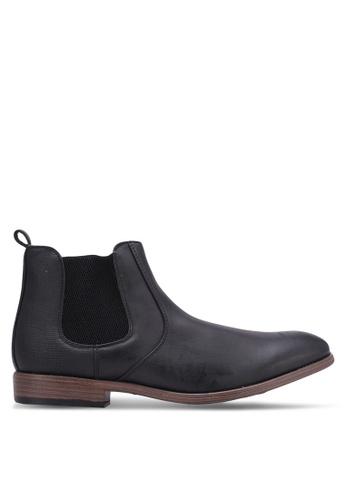 River Island black Chelsea Boots RI009SH0S319MY_1