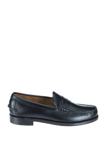 Sebago black Mens Classic Dress Casual Shoes SE328SH81NRIPH_1