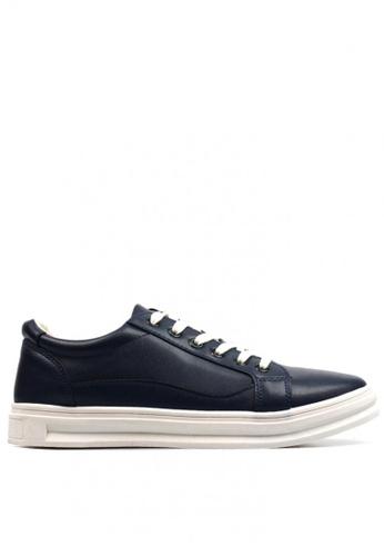 New York Sneakers navy Damian H20 Men's Low Cut Shoes 25D79SH82D8270GS_1