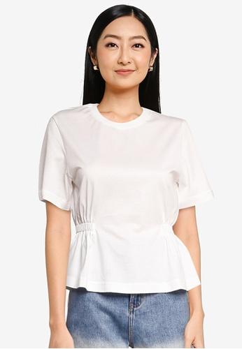 URBAN REVIVO white Women's T-Shirt 2FAFDAA1B9472DGS_1