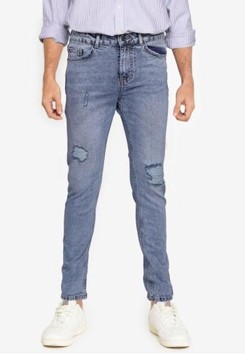 Aeropostale blue Slim Fit Jeans C5C4BAA2A12B30GS_1
