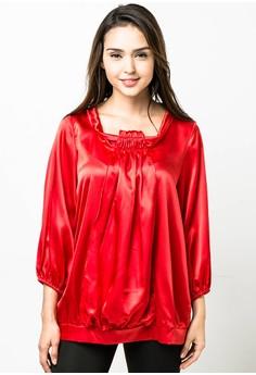 Plus Size Belle Long Sleeves Blouse