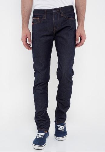 Lee Cooper blue Lee Cooper Jeans Pria Slim Fit Dark Indigo Harold  39DE6AA00C86F2GS 1 d2600c1116