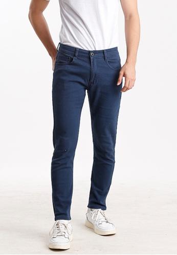 Ninety Nine Point Nine Boutiq blue Slim Fit Jeans A7746AA254AB13GS_1
