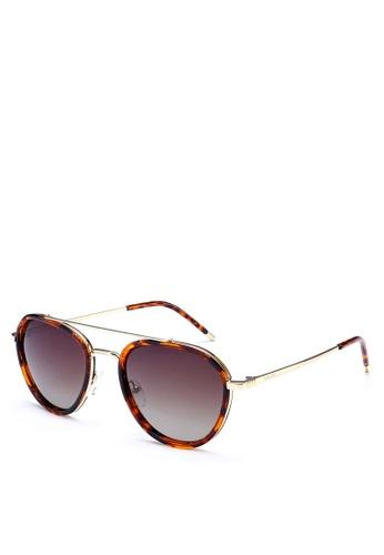 Privé Revaux brown The Connoisseur Sunglasses PR660GL0RC3FMY_1