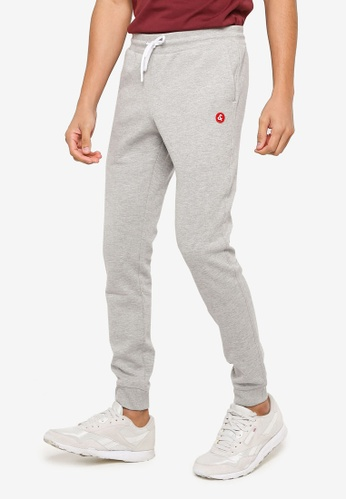 Jack & Jones grey Slim Sweatpants 78343AA4FF8AD9GS_1