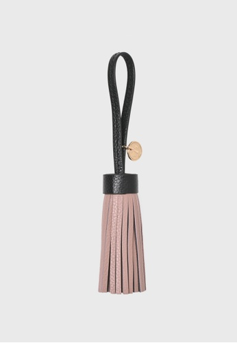 Tocco Toscano pink Lunar Leather Tassel (Dusty Pink) F6742AC8624363GS_1