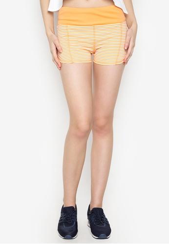 Ava Athletica orange Ladies Shorts AV542AA0J5ZLPH_1