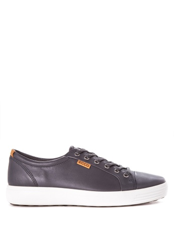 ECCO grey Soft 7 Sneakers EC876SH85ODEPH_1