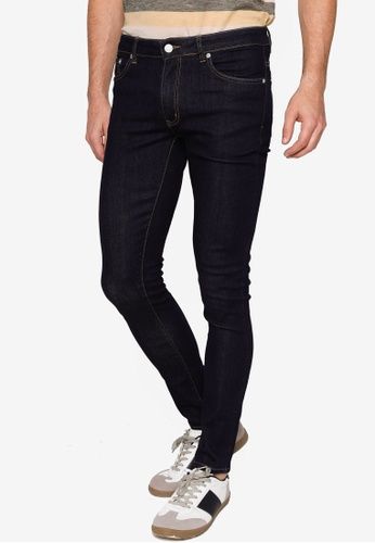 Electro Denim Lab blue Indie Skinny Jeans 8D84FAA7435E12GS_1