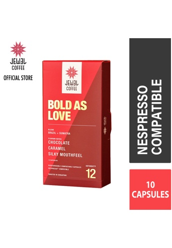 Jewel Coffee red Jewel Coffee Specialty Coffee Nespresso Capsules - Bold As Love (Box Of 10) 26386ES543552EGS_1