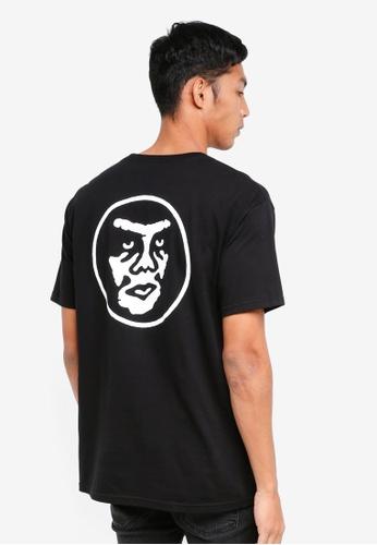 OBEY black Creeper Circle T-Shirt 37857AA2F55CB7GS_1