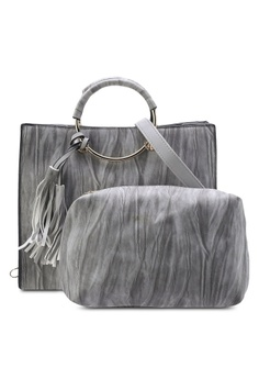 ed87ad5e0284 Playboy Bunny grey Playboy Bunny 2 in 1 Ladies Bag PL604AC67AYMMY 1