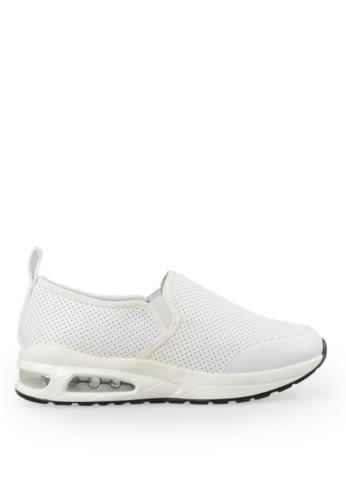 Footspot white FOOTSPOT - Simple Slip-on Sneakers 7A699SH219040DGS_1