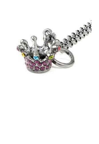Glamorousky multi Crown Bracelet with Multi-color Austrian Element Crystals BBDA9ACA59353EGS_1