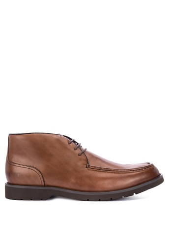 Sledgers brown Seattle Chukka Boots 92609SH781FA59GS_1