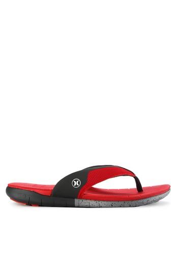 hurley red Phntm Free Sandal 61C08SH9701F49GS_1