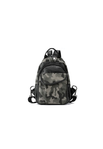 Lara multi Men's Camouflage Cross Body Bag 4BAAEAC70010C7GS_1