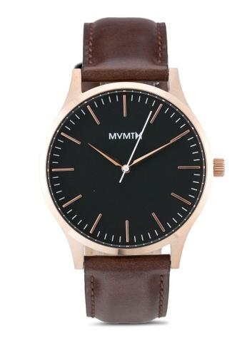 MVMT brown MVMT 40 Series Watch - 40 Rose Gold Brown MV187AC0SZR6MY_1